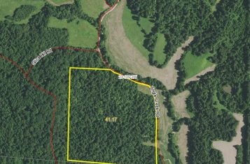 Superb 41.17 Acre Southern Illinois Hunting Property