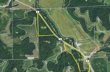 Pike County IL Deer Hunting Tract 34.31 +/- Acres for Sale