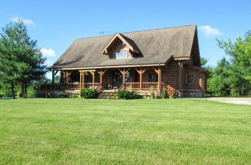 Premier Recreational & Agricultural Property with Log Home & Lake for Sale