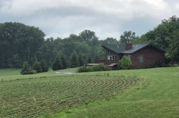 Country Home on 50 +/- Acres in Lebanon Illinois for Sale