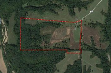 77.5 Surveyed Recreational Acres for Sale in Lincoln County Missouri