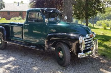 1951 GMC 250 Truck for Sale by Online Auction