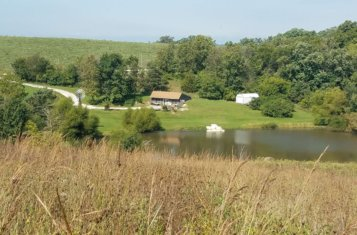 Turn-Key 80 +/- Acre Iowa Hunting Farm with Updated Cabin for Sale – Wayne County