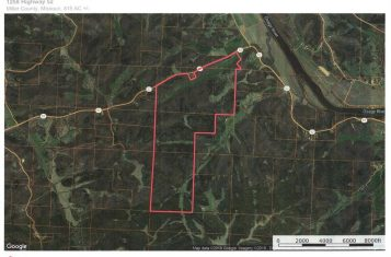 815 Acres with a Home in Miller County, Missouri