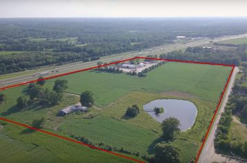8 Acres North Service Rd. Zoned Commercial with Highway Access At New I-70 Interchange Wentzville