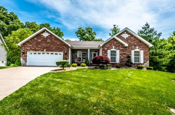 23 Millers Court O'Fallon Missouri Custom Built Ranch Home for Sale