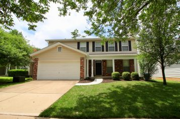 Completely Updated 4 Bedroom / 2.5 Bath Home in Ballwin Missouri!
