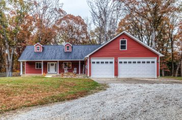 1.44 Secluded Acres With A Home In Union, MO