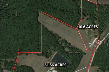 Home For Sale 10.6 Acres – 591 Berry Ridge Rd., Gerald, MO