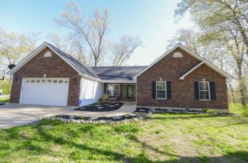 Beautiful Home On 2.6 +/- Acres Located West Of Elsberry Missouri For Sale