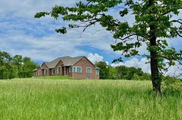 Stunning Custom-Built Home on 9 Acres!