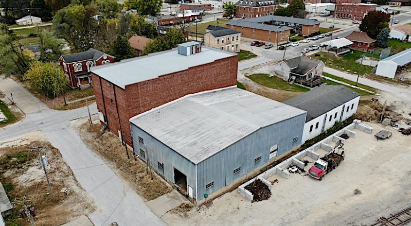 Industrial warehouse for auction