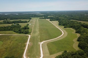 """Live With Your Plane"" Wood Acres Airpark Building Lot#3 For Sale – Ralls County"