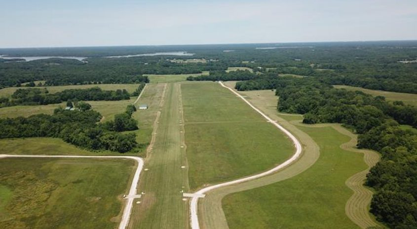 Residential airpark lots for sale Ralls County MO