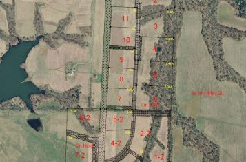 """Live With Your Plane"" Wood Acres Airpark Building Lot#7 For Sale – Ralls County"