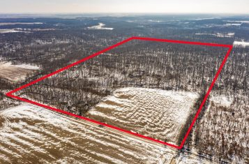 79.27 Acres Illinois Hunting Paradise With Big Deer Potential For Sale – Montgomery County