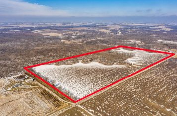 Income Producing Farm With Great Hunting For Sale In Montgomery County, Illinois